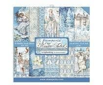 Stamperia - 12 x 12 Inch Paper Pack - Winter Tales by Dorota Kotowicz