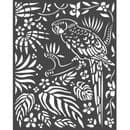 Stamperia - 20 x 25cm Thick Stencil - Amazonia Parrot