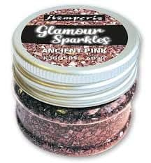 Stamperia Glamour - Sparkles - Ancient Pink
