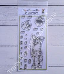 Star Gazers Stamps - Morty Bottoms {mouse} - Tracy Easson Illustrations