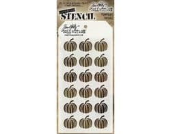 THS062 Stampers Anonymous Tim Holtz Layering Stencil - Pumpkins