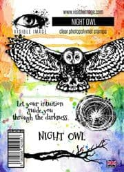 Visible Image Clear Stamp Set - Night Owl
