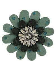 Wendy Vecchi, Studio 490, Embellish Your Art - Green Flower