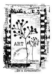 Woodware Clear Singles Stamp - Be a Dreamer