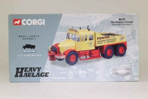 17905 Corgi 1:50 Scale Scammell Contractor Pointer Group Box
