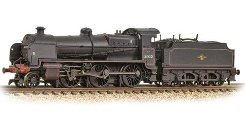 372-935 Farish SE&CR N Class 31810 BR Lined Black (Late Crest)