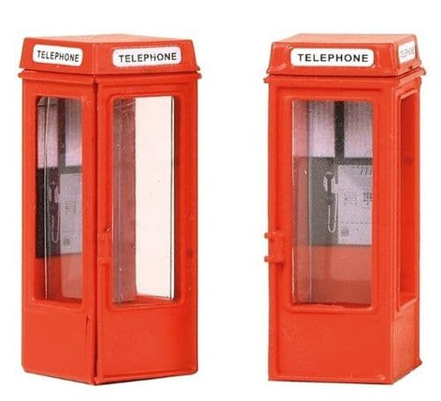 44-0503 Scenecraft K8 Phone Boxes (x2)