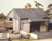 534 Ratio: TRACKSIDE BUILDINGS  Stone Goods Shed (155mm x 170mm)