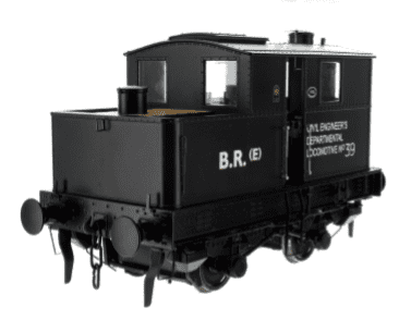 7S-005-002 Dapol Sentinel  BR Early Crest Dept 39