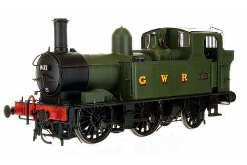 7S-006-020 Dapol 14xx Class Green GWR Green1432 Auto Fitted