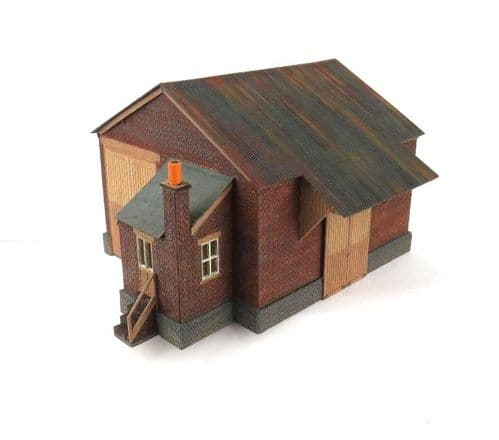 Arch Laser ALOO-013  GWR Type 'Fairford' Goods Shed Kit OO Scale