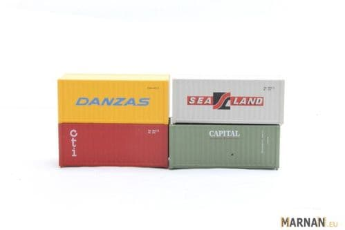 Arnold 6492 N 4x 20ft Containers (various)