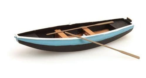 Artitec 38709-BL Steel Rowboat with 2 Oars