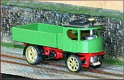 Atkinson 1924 Steam Lorry Kit (Unboxed)