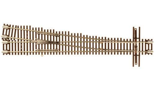 Atlas 2053 Code 55 Track w/Nickel-Silver Rail & Brown Ties -- #7 Right Hand Turnout