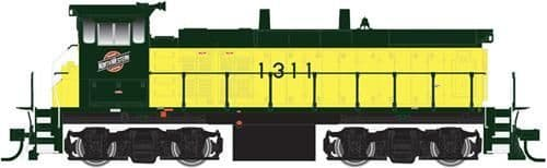 Atlas40002544 Master MP15DC Chicago & N Western 1311 (DCC-Fitted)
