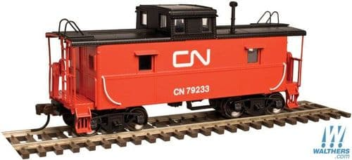 Atlas Trainman 50003321 C&O-Style Steel Center-Cupola Caboose - Ready to Run -- Canadian National #7
