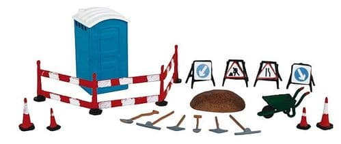 Bachmann Scenecraft 36-048 OO Building Site Details and Tools
