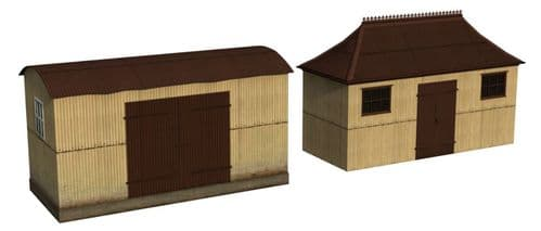 Bachmann Scenecraft 44-0055 Pagoda Shed and Store