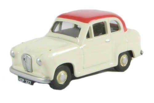 ClassixEM76851 Austin A30 2 Door Saloon Off White/Red Roof