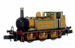 Dapol 2S-012-015  Terrier A1X 32635 Brighton Works Improved Engine Green