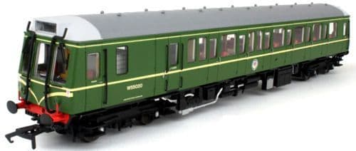 Dapol4D-009-001 Class 121 BR Green with Whiskers W55020