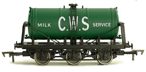 Dapol 4F-031-025 6 Wheel Milk Tank CWS