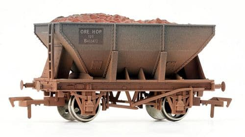 Dapol 4F-033-002  24t Steel Ore Hopper BR Weathered