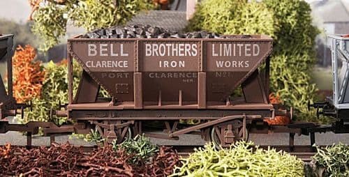 Dapol 4F-033-004  24t Steel Ore Hopper Bell Bros Weathered