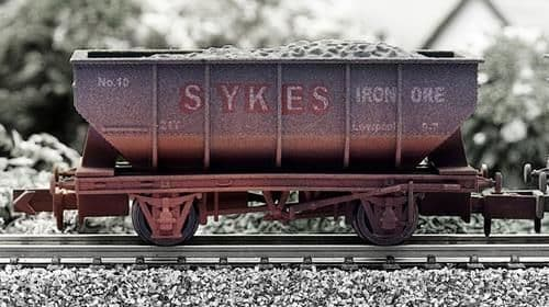 Dapol 4F-034-014  21t Hopper Sykes Weathered