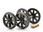 Dapol 7A-000-007 Scale: 1:43, O Spoked Wheels (2 Axles)