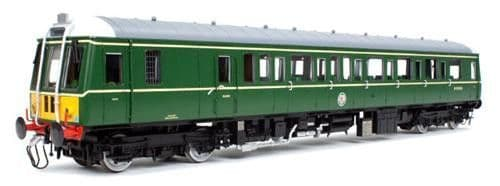 Dapol 7D-015-002D Scale: 1:43, O *Class 122 55000BR Green SYP (DCC ON BOARD) (1)