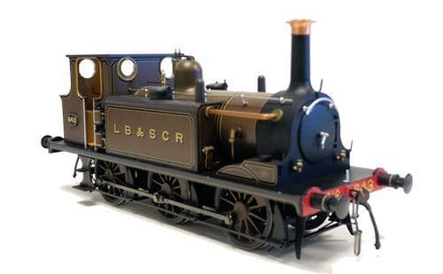 Dapol 7S-010-009 Terrier A1X Gipsy Hill 643 Marsh Umber Brown