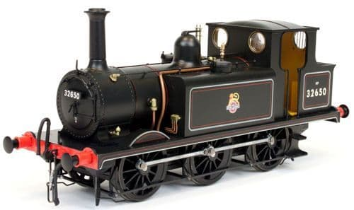 Dapol 7S-010-012 Terrier A1X 32650 BR Lined Black Early Crest