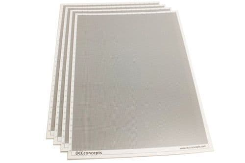 DCC Concepts SS050 Smart Styrene 0.5mm (4 Sheets)
