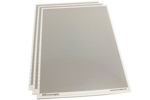 DCC Concepts SS075 Smart Styrene 0.75mm (3 Sheets)