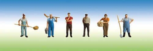 Faller 153028 HO Scale Stable Staff, Groom & Trainer