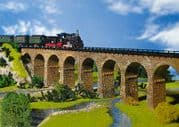 Faller 222585 N scale Stone Viaduct Single Track Straight (2)