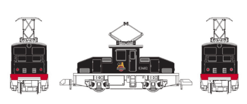GM2260201 Scale 1:148 Scale, N Scale *ES-1 STYLE ELECTRIC LOCOMOTIVE BR E3682