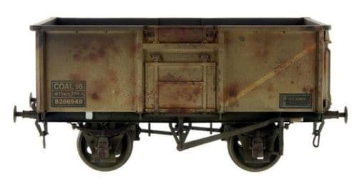 GM7410303	 16t Mineral Wagon BR Grey 563824 Weathered