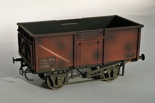 GM7410306 16t Mineral Wagon BR Bauxite 570260 Weathered