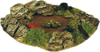 Harburn Hobbies CG 255 Small pond with water lilies