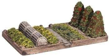 Harburn Hobbies CG 257 Allotment Section with cloche