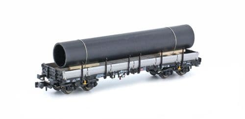 Hobbytrain (by Lemke) H23871  DB Remms665 Wagon with Pipe Load VI