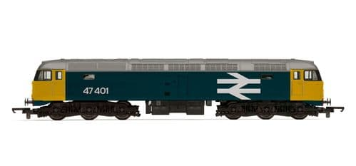 Hornby R3287TTS RailRoad BR Class 47 with TTS Sound