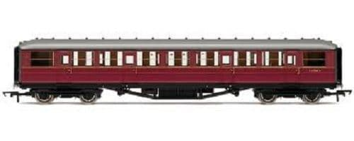 Hornby R4262A BR 61ft 6in corridor 3rd class coach in BR maroon