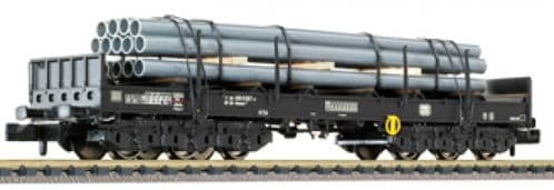 Liliput L265767 Coil Wagon 6-axle DB ep. IV front+stan+loading