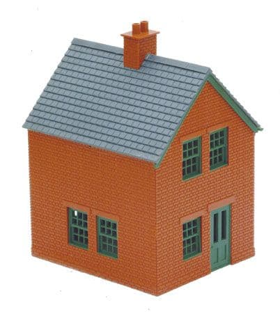 LK-14 Peco: 'MANYWAYS' SERIES LINESIDE KITS Station Houses, brick type