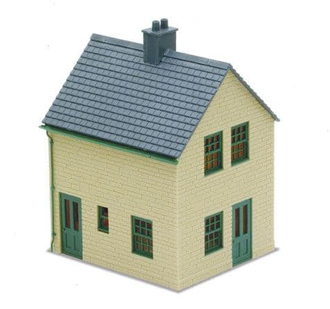LK-15 Peco: 'MANYWAYS' SERIES LINESIDE KITS Station Houses. stone type