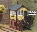 LK-715  PECO O gauge Lineside - Signal Box, Brick Base